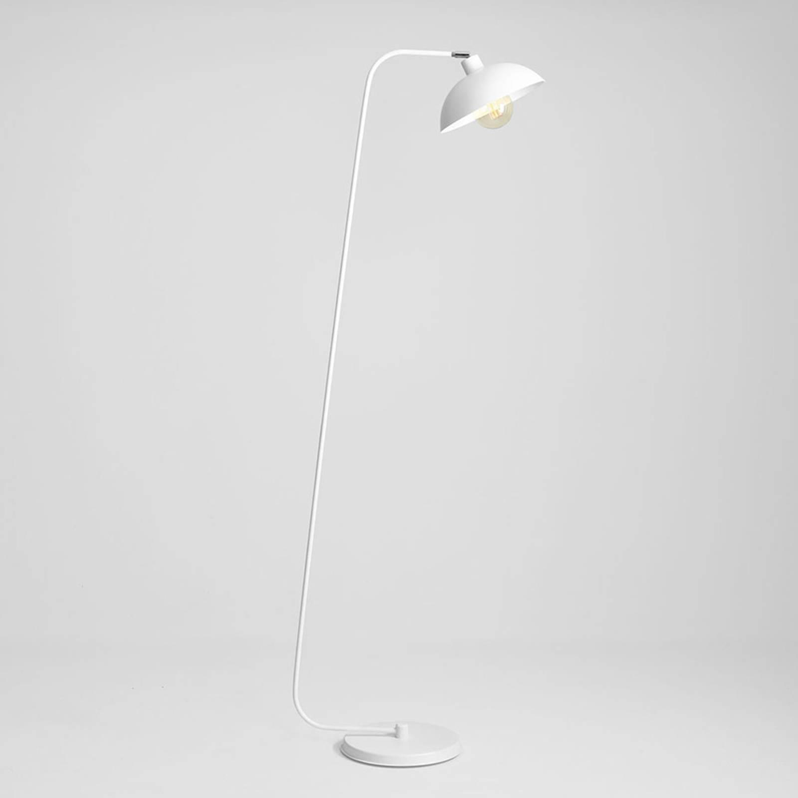 Lattiavalaisin 1036, yksilamppuinen, valkoinen