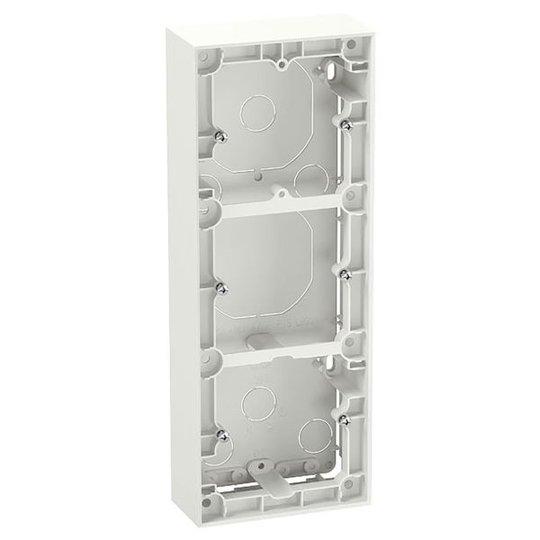 Elko Plus Korotuskehys 35 mm, valkoinen 3-lokeroinen