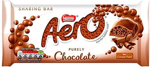 AERO Milk Chocolate Bar 90g