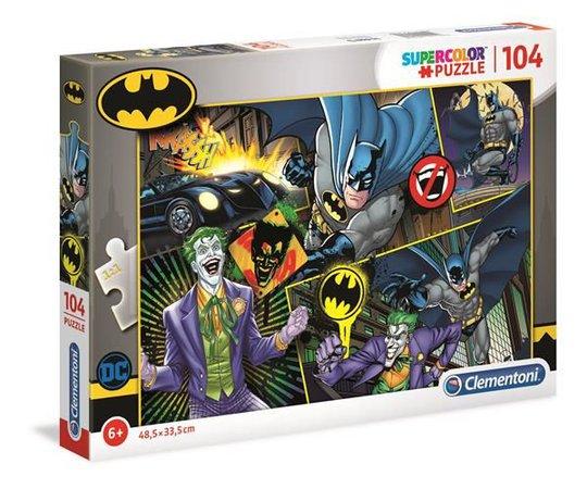 Batman Puslespill, 104 Brikker