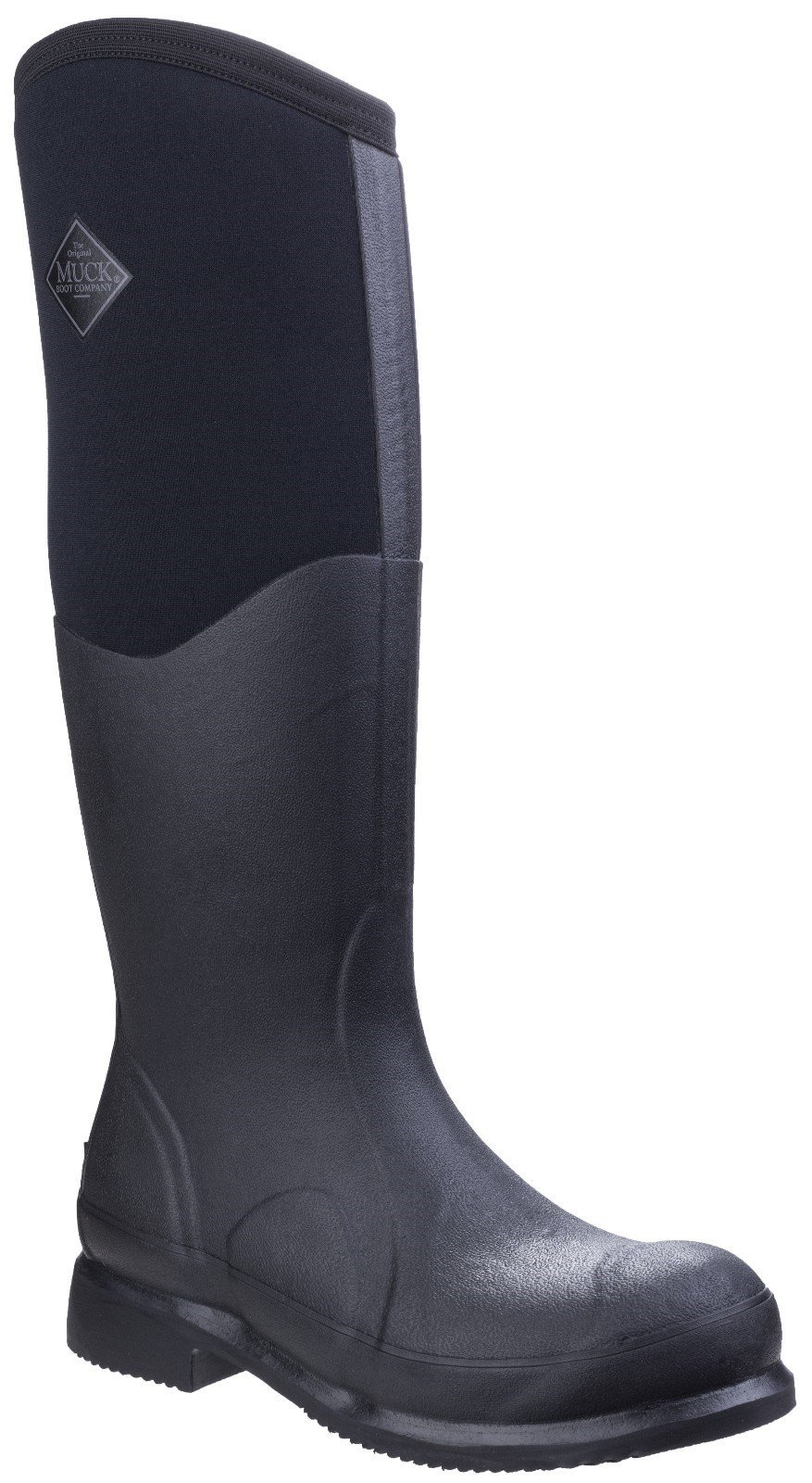Muck Boots Unisex Colt Ryder All-Conditions Riding Boot Black 25886 - Black/Black 4