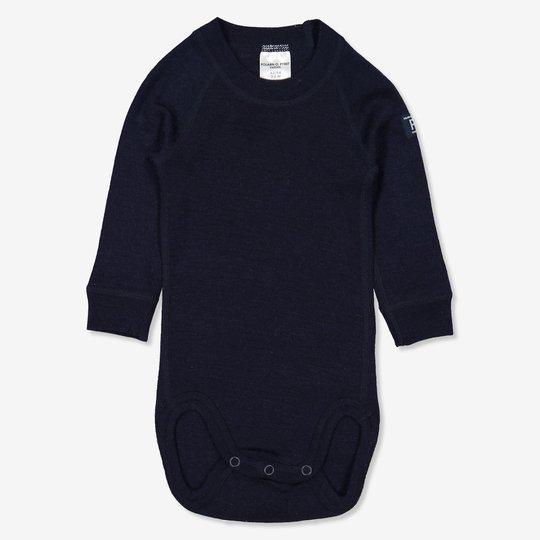 Ullbody nyfødt mørkblå