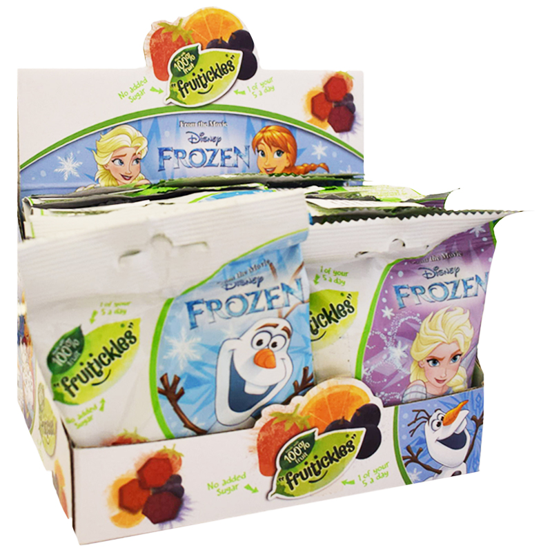 "Hel Låda Fruktgodis ""Frozen"" 14 x 18g - 81% rabatt"