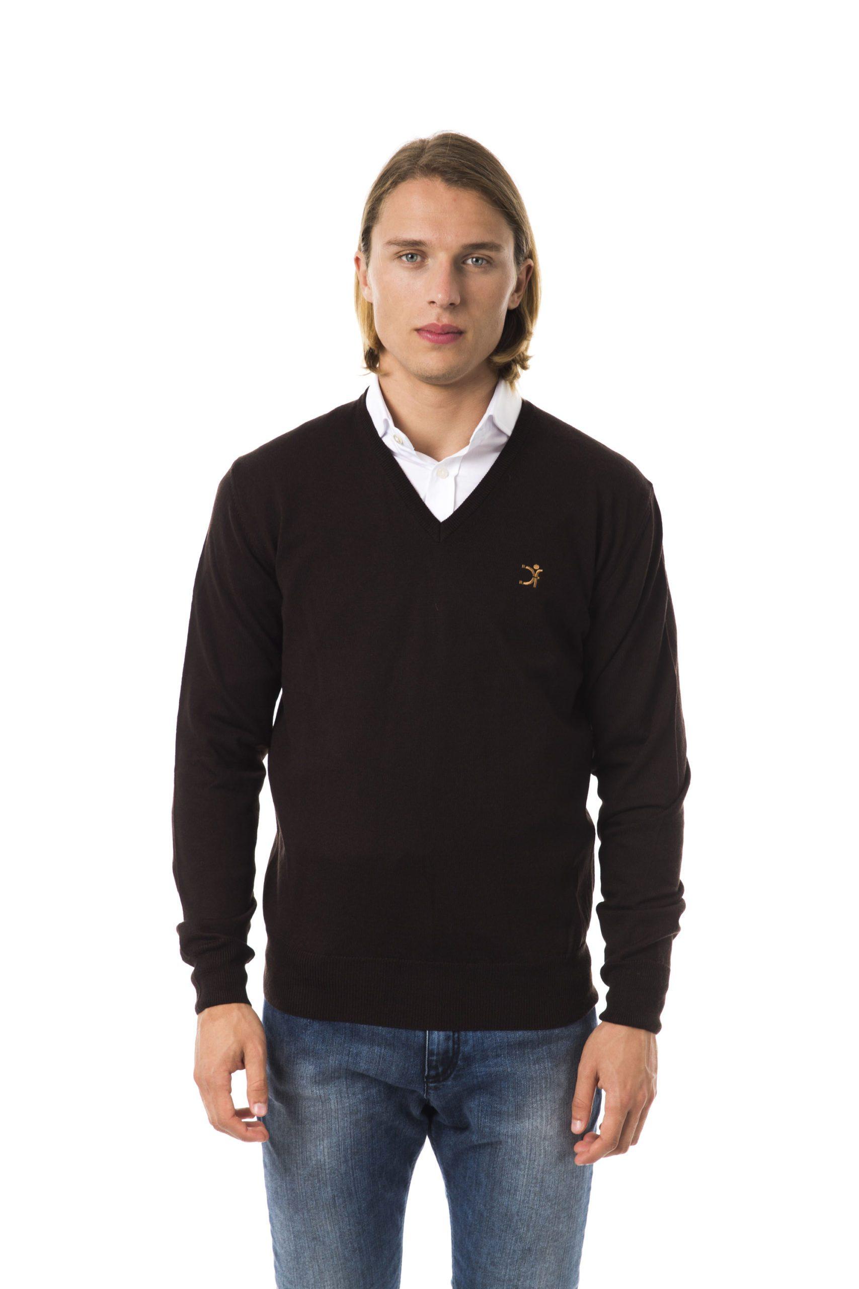 Uominitaliani Men's Moro Sweater Brown UO816114 - S