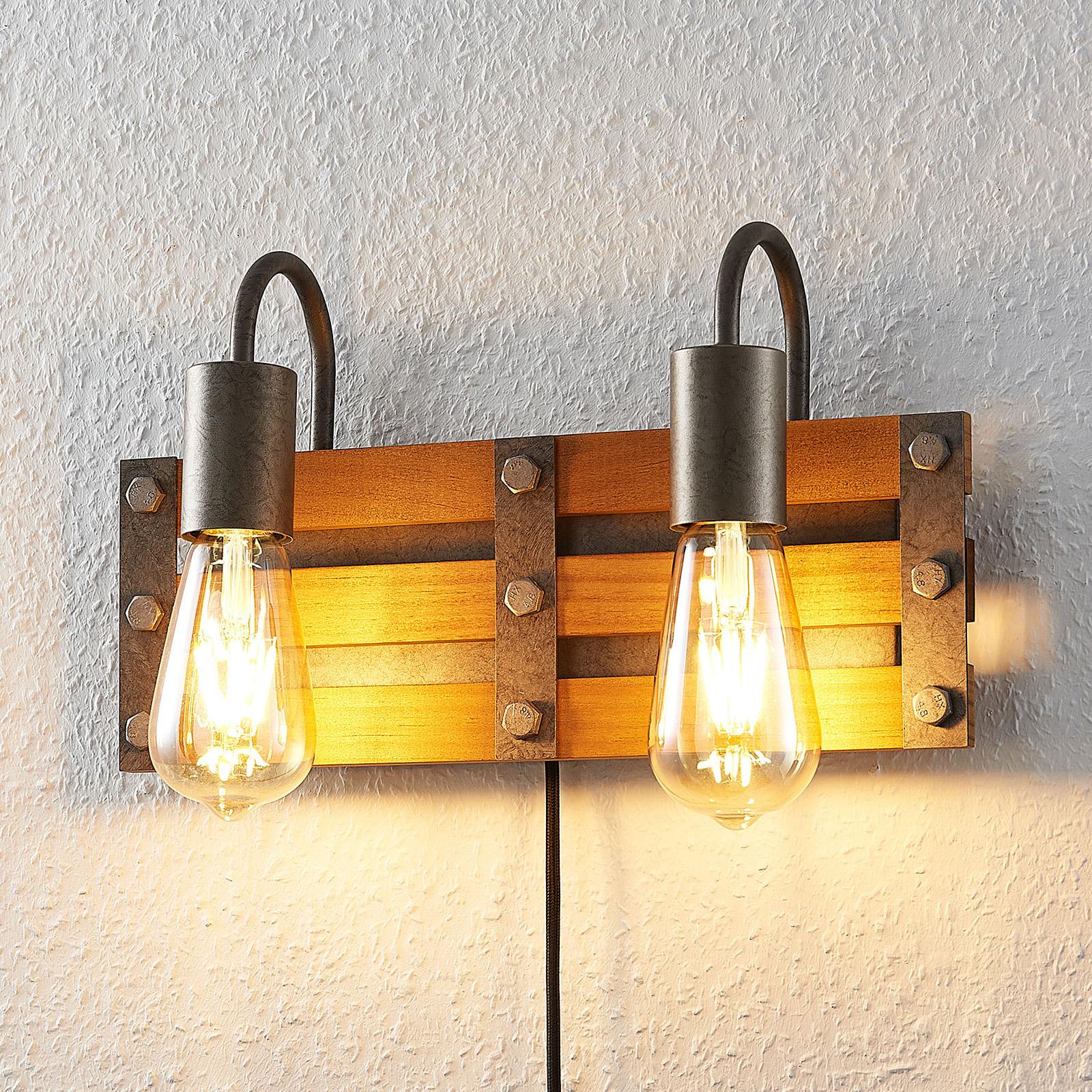Lindby Jamina -seinävalaisin, 2-lamppuinen