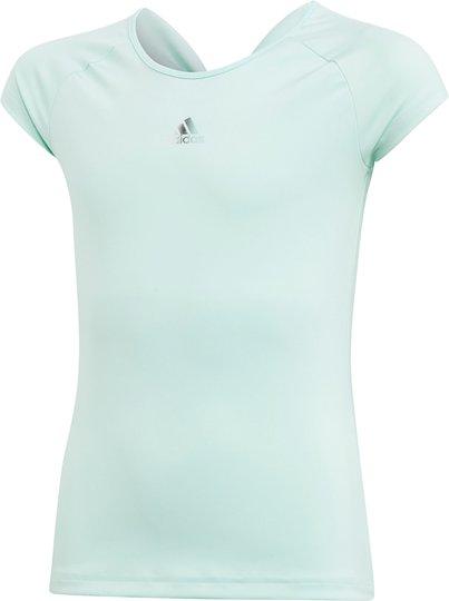 Adidas Girls Ribbon T-Skjorte Treningstrøye, Green 116