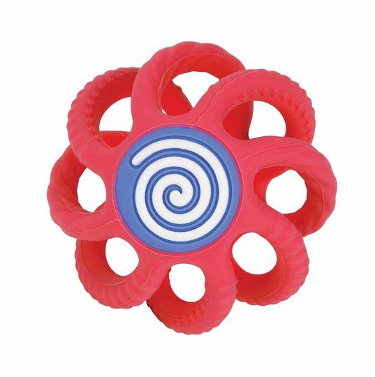 Nûby Sammenleggbar Silikonball Biteleke, Rød