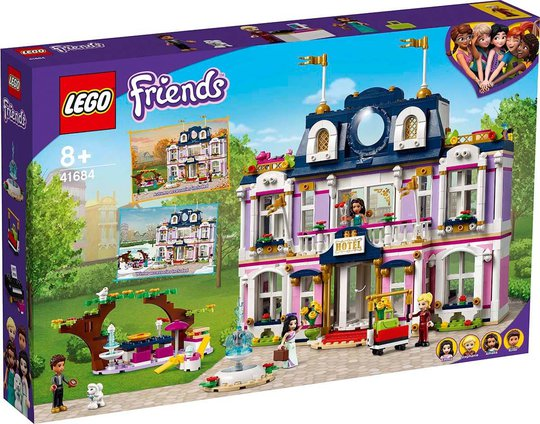 LEGO Friends 41684 Heartlake Citys Grand Hotell