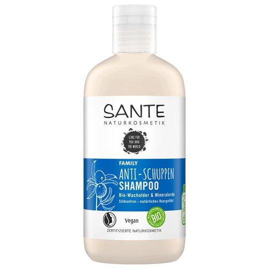 Sante Anti-Dandruff Shampoo Juniper & Mineral Earth, 250 ml