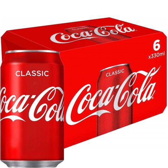 "Läsk ""Coca Cola"" 6 x 330ml - 31% rabatt"