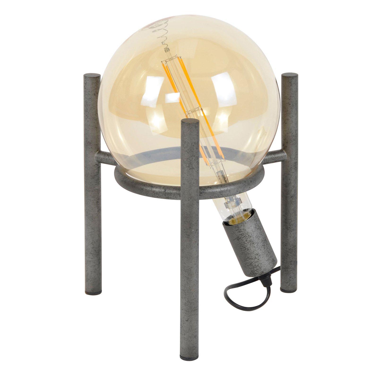 Bordlampe Saturn, trebeinstamme, 1 x G200