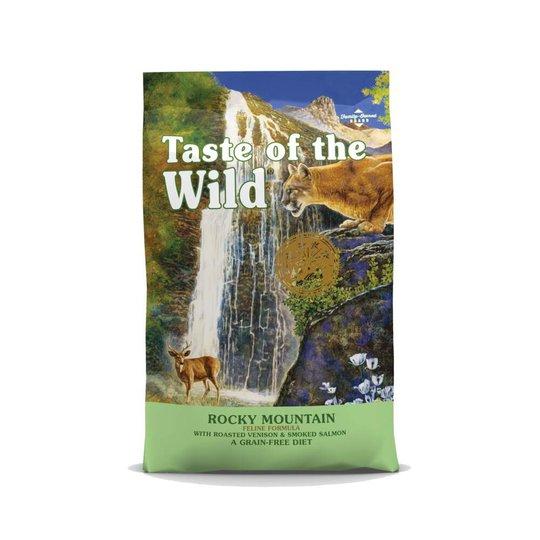 Taste of the Wild Cat Rocky Mountain Feline, Venison & Salmon (6,6 kg)
