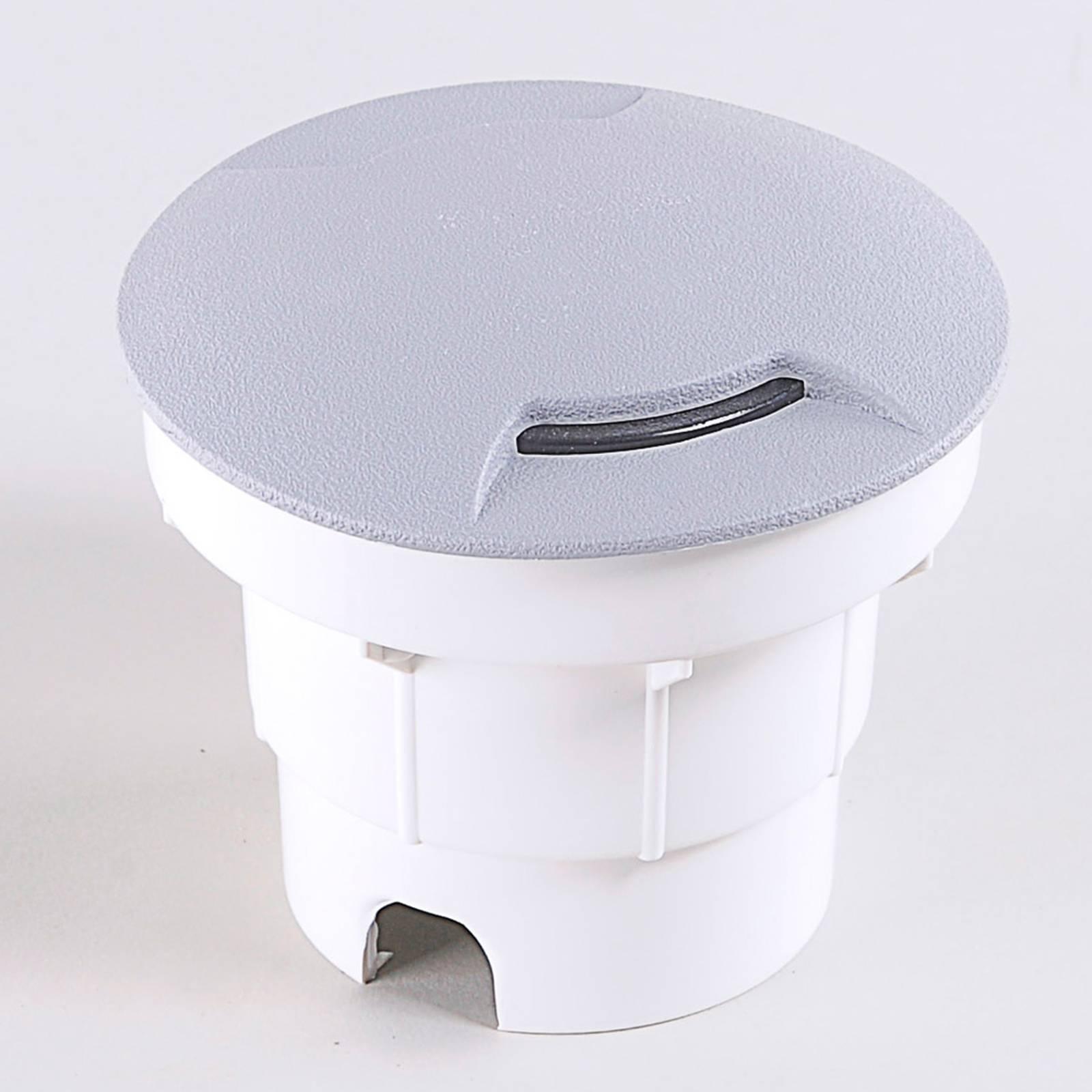 LED-uppovalaisin Ceci 120-2L harmaa CCT