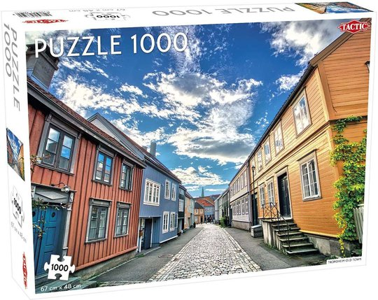 Tactic Puslespill Trondheim Old Town 1000 brikker