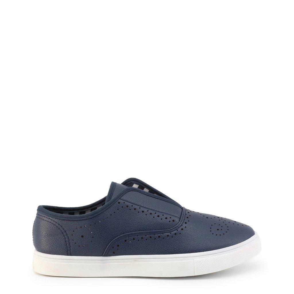 Roccobarocco Women's Slip On Shoe Various Colours RBSC1C701 - blue EU 39