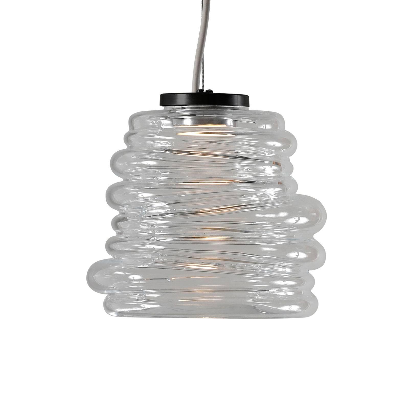 Karman Bibendum -LED-riippuvalaisin Ø 15 cm kirkas