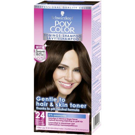 Tonings-Shampoo Mörkbrun - 56% rabatt