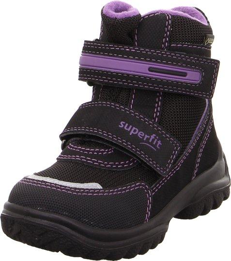 Superfit Snowcat GTX Vintersko, Black/Purple 22