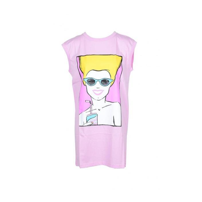 Boutique Moschino Women's Dress Pink 171512 - pink 36