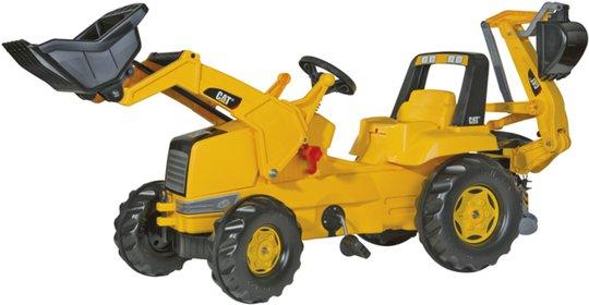 Rolly Toys Junior Traktor CAT med Skuffe
