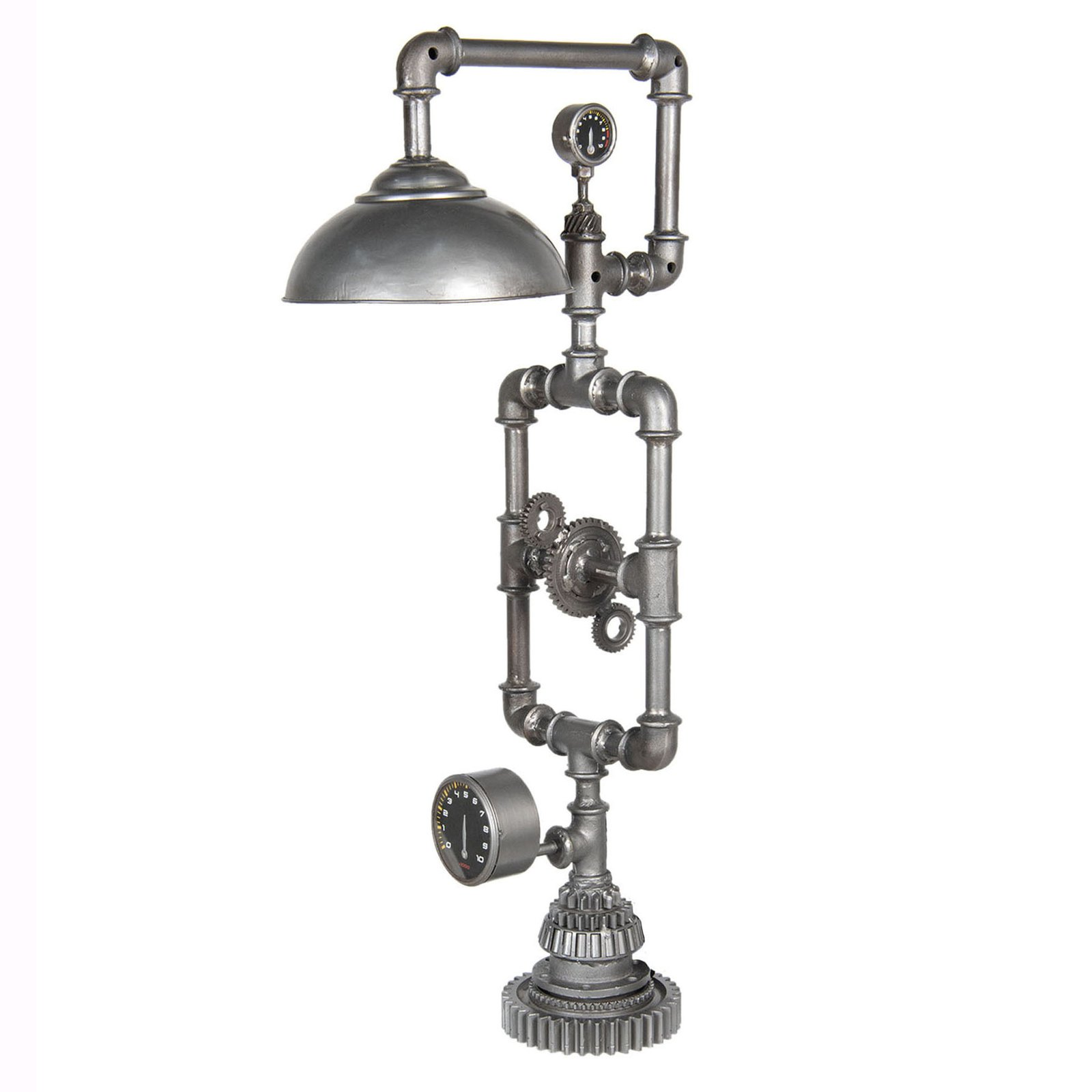 271 gulvlampe i industridesign