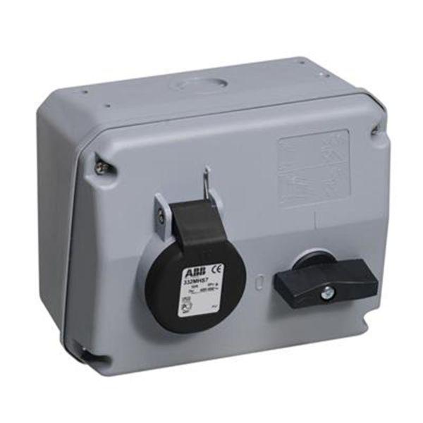 ABB 2CMA167678R1000 Vegguttak IP44, 3P+J, 32 A 500 V