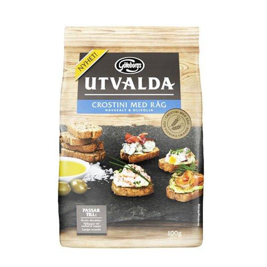 Rågcrostini Havssalt & Olivolja 100g - 80% rabatt
