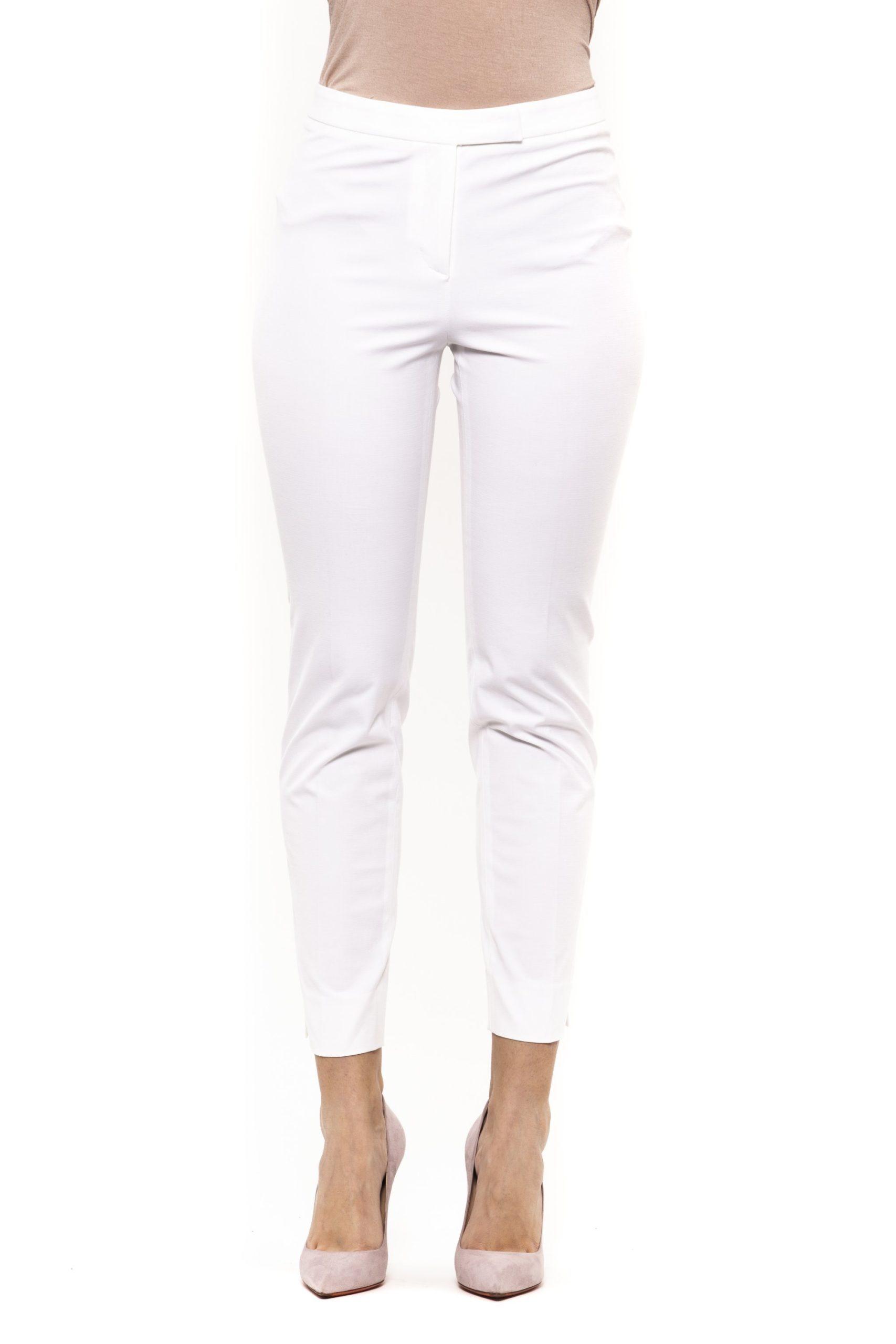 Bianco White Jeans & Pant - IT40 | XS