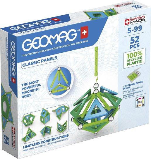 Geomag Byggesett Classic Panels Green Line 52