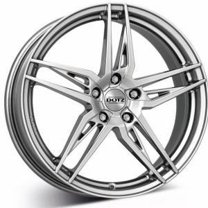 DOTZ Interlagos Silver 7.5x17 5/100 ET46 B57.1