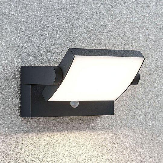 LED-ulkoseinävalaisin Sherin liikkeentunnistimella