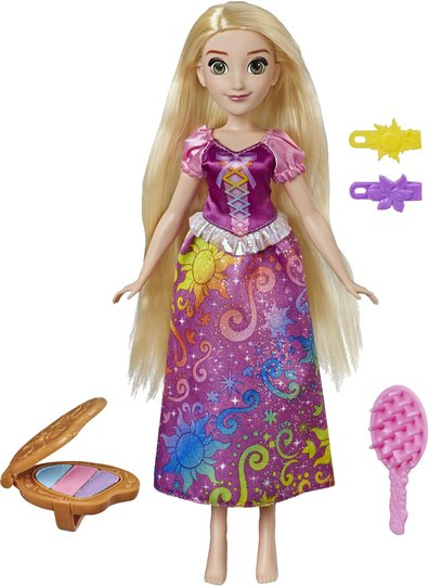 Disney Princess Dukke Rapunzel Rainbow Style