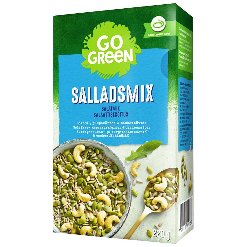 GoGreen Salladsmix - 40% rabatt
