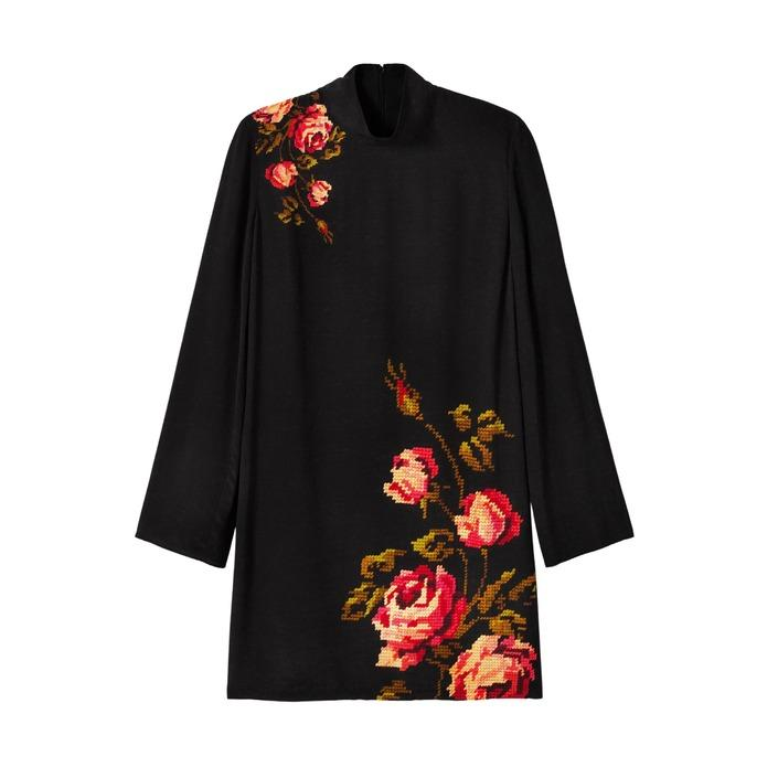 Desigual Women's Dress Black 185089 - black 38