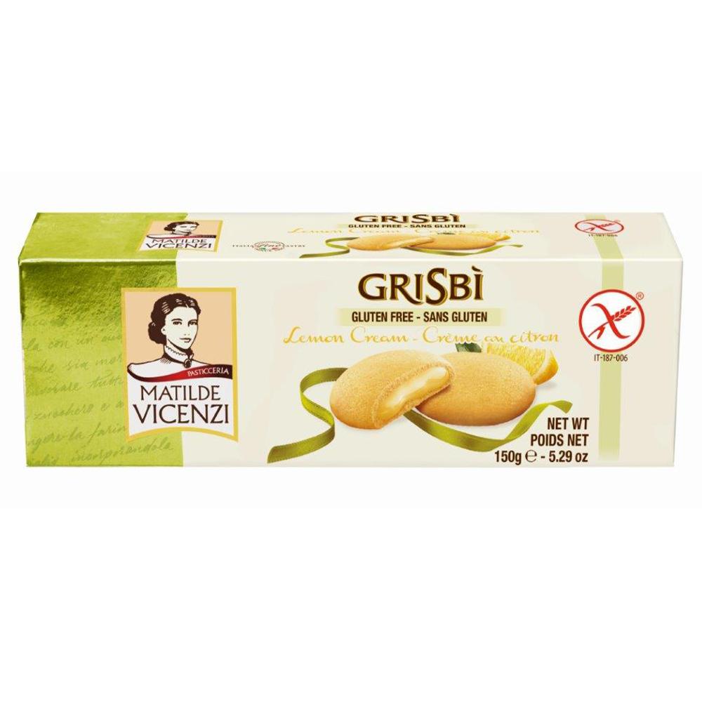 Lemon Gluten Free Biscuits 150g by Grisbi