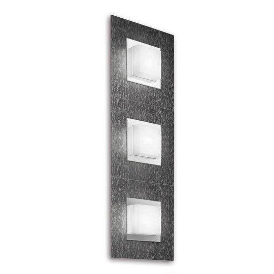 GROSSMANN Basic LED-valaisin 3-lampp., antrasiitti