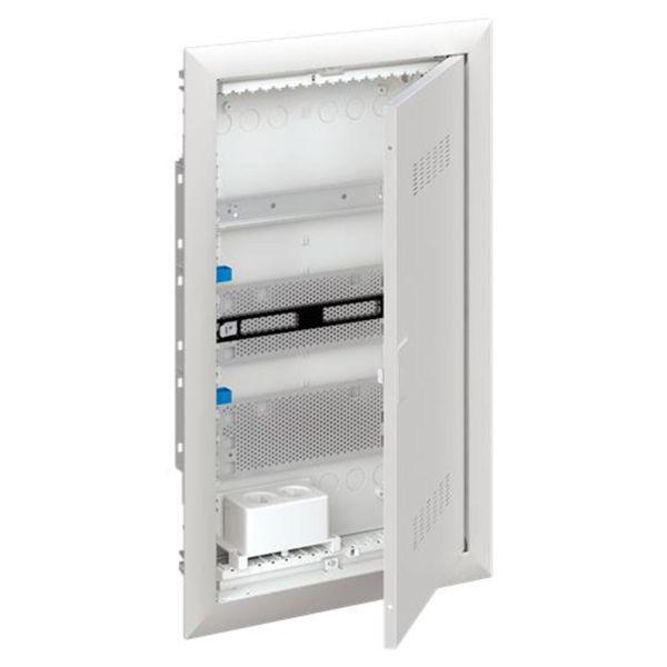ABB UK600 2CPX031391R9999 Vakiokeskuskotelo ilmastoitu ovi 3-rivinen