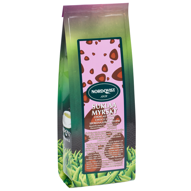 Svart te Choklad & vanilj - 26% rabatt