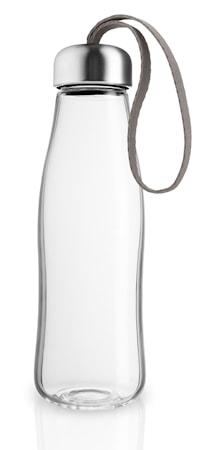 Drickflaska glas 0,5 l Taupe