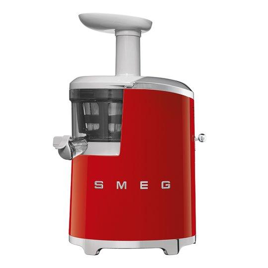 Smeg - 50's Style Slowjuicer Röd