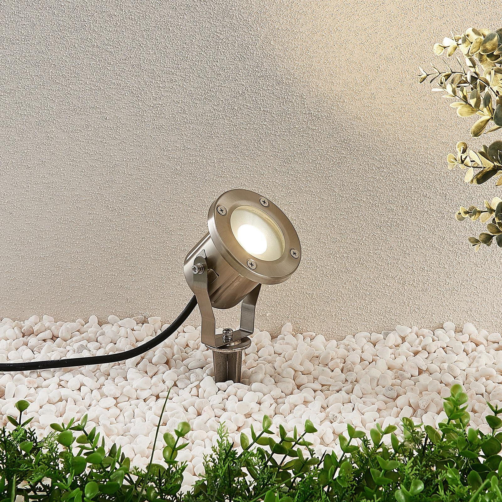 Jaloteräs-LED-maapiikkikohdevalaisin Mathis