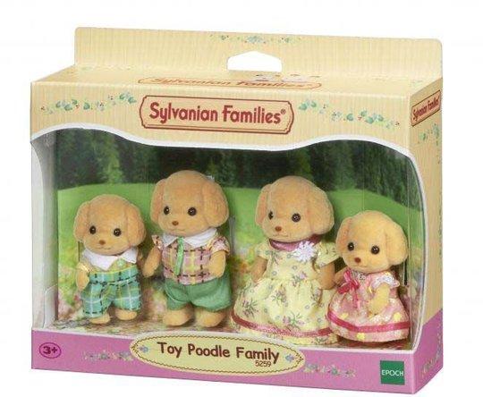 Sylvanian Families 5259 Toy Poodle Family