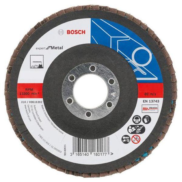 Bosch Expert for Metal Lamellslipeskive 180x22,23 mm K80