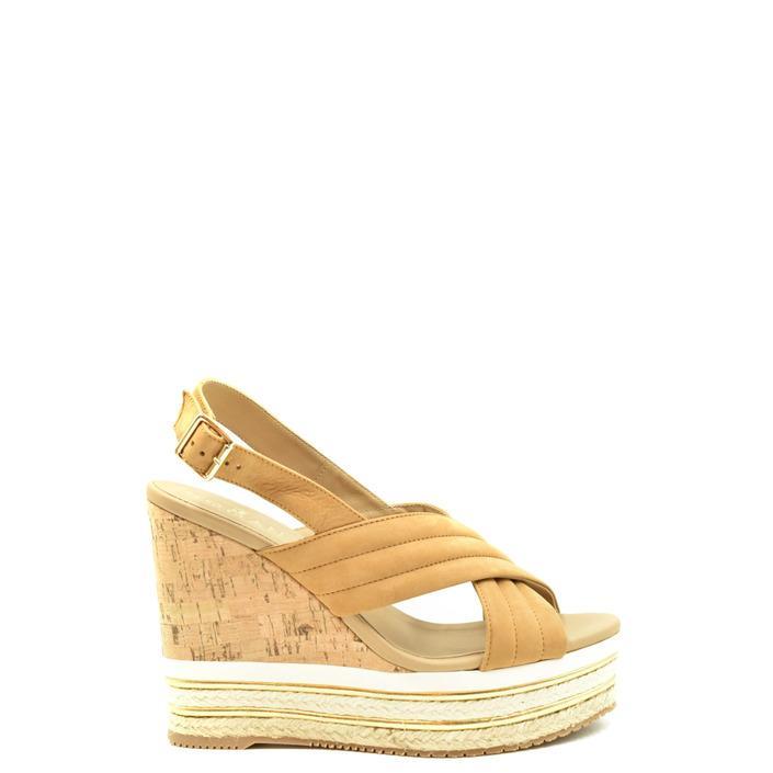 Hogan Women's Sandal Beige 179677 - beige 36