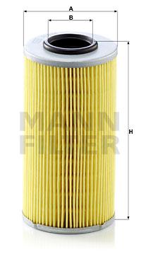 Hydrauliikkasuodatin, automaattivaihteisto MANN-FILTER H 835 x