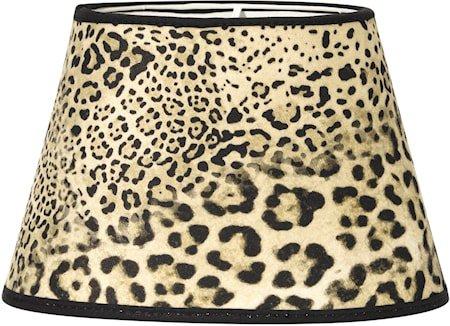 Lampeskjerm Oval Leopard