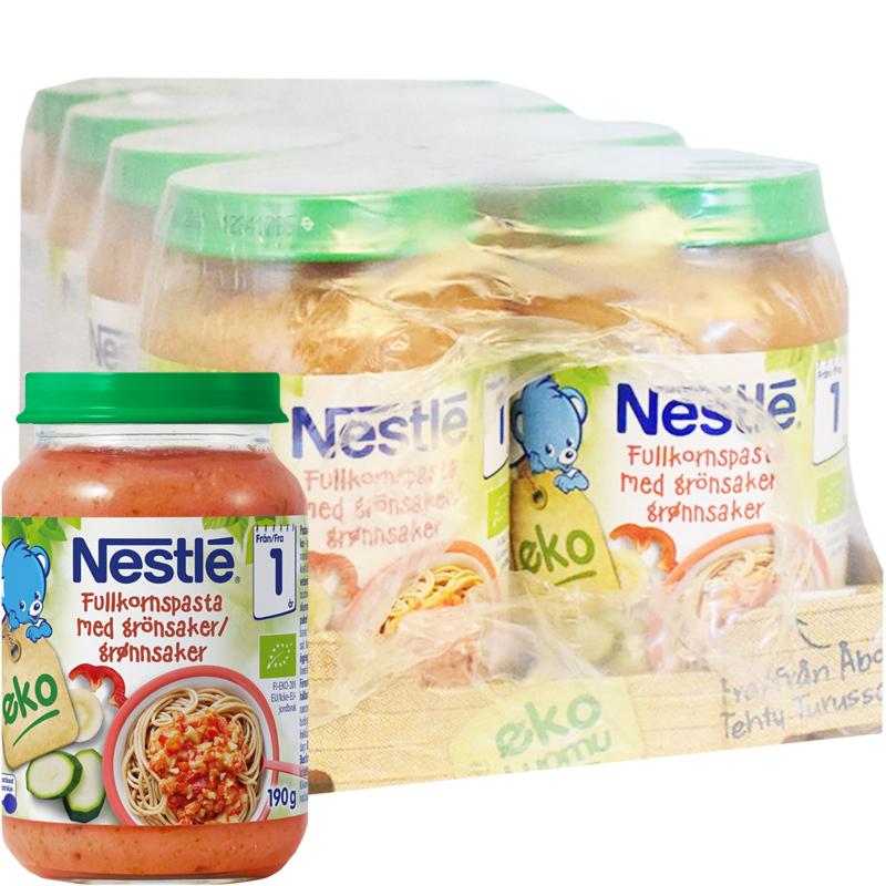 Eko Fullkornspasta & Grönsaker 8-pack - 36% rabatt
