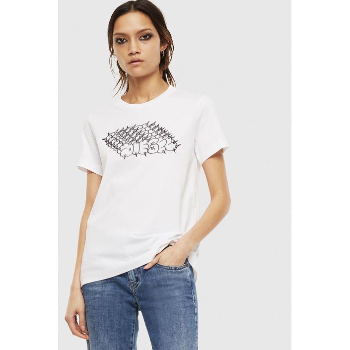 Diesel Women's T-Shirt White 294102 - white XS