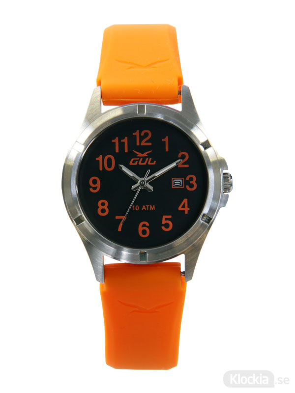 Barnklocka GUL Surf 32 Colorize Orange 525013040