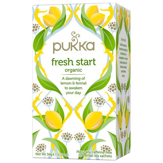 Pukka Herbs Örtte Fresh Start, 20 påsar